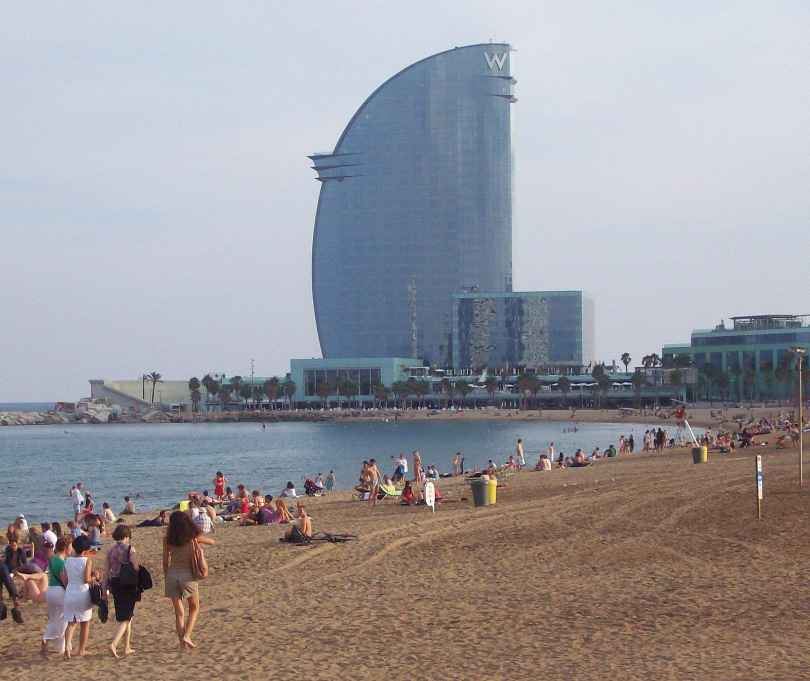Strand von La Barceloneta