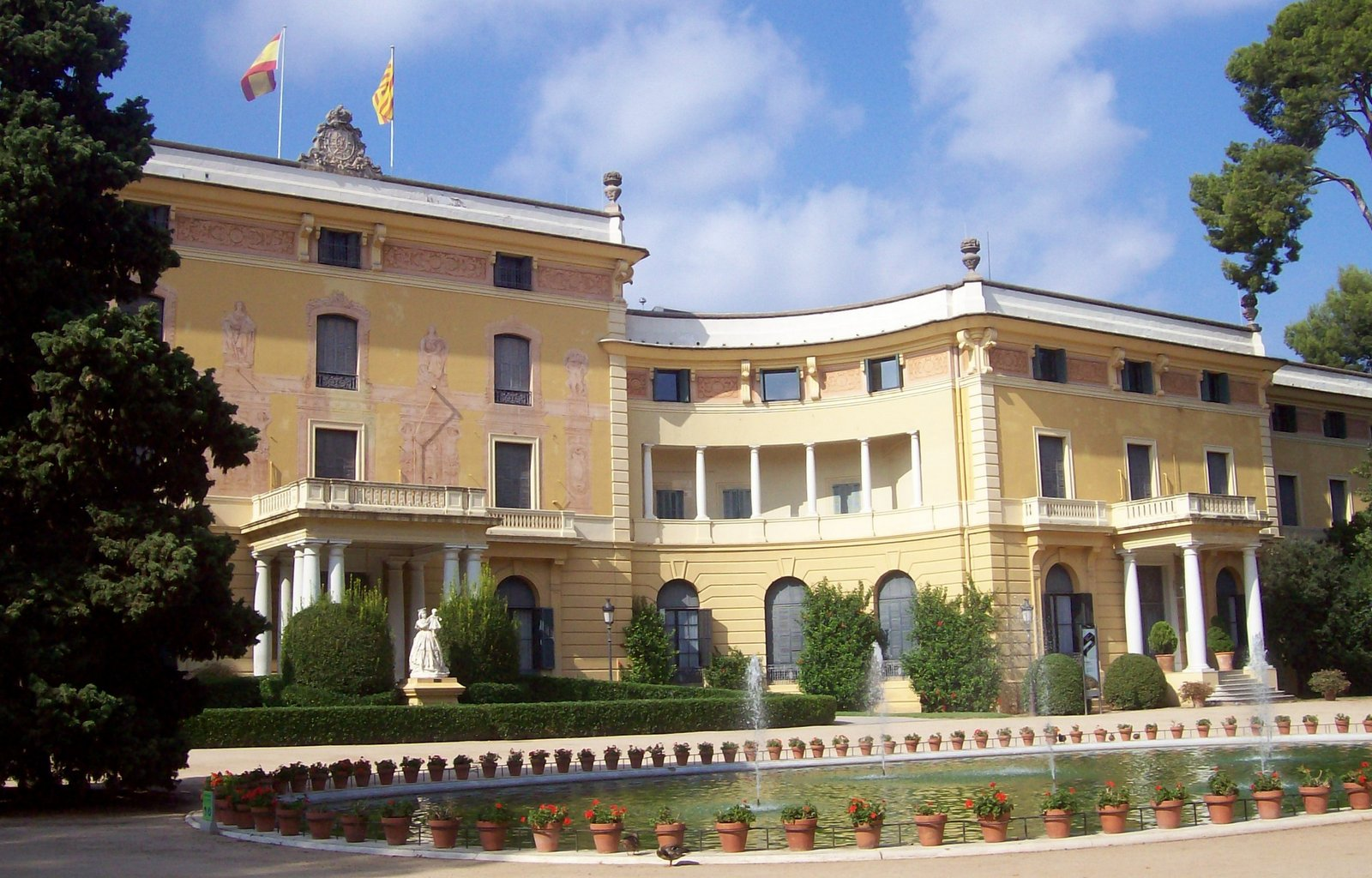 Königlicher Palast in Barcelona