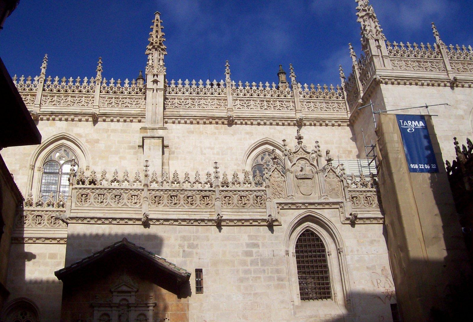 Capilla Real in Granada - Andalusien