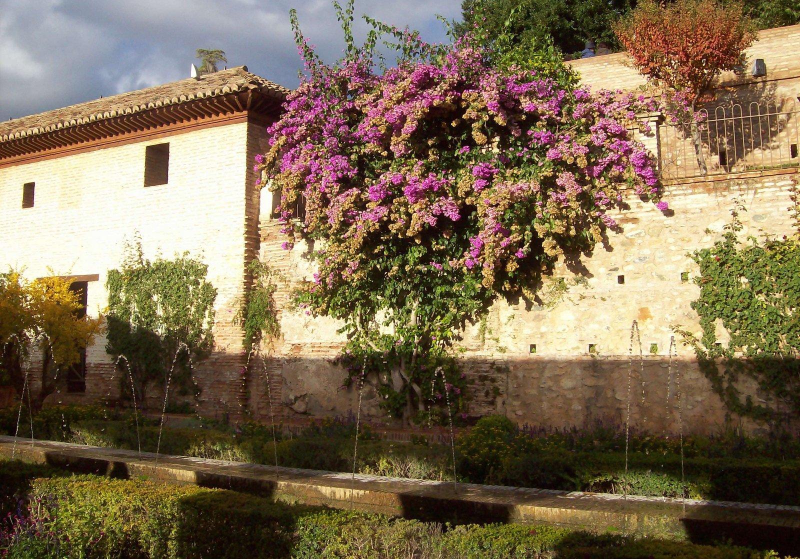 Generalife in der Alhambra - Andalusien