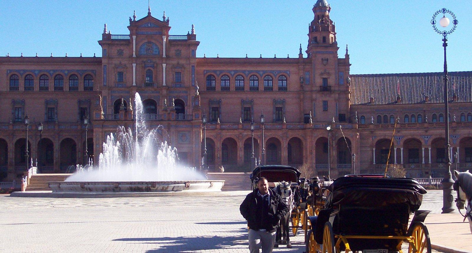 Plaza de Espana - Sevilla - Andalusien