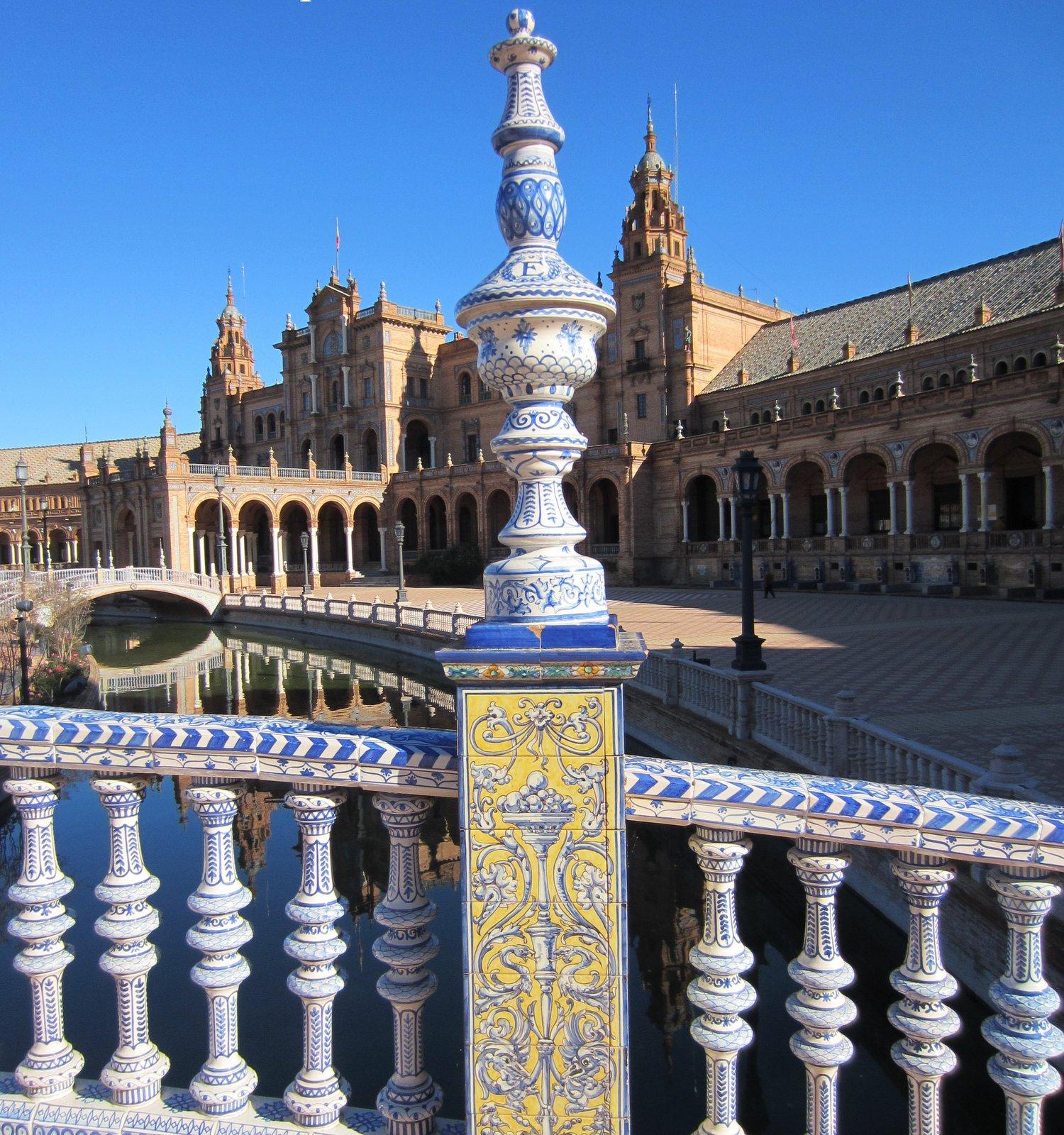 Parque de Maria Luisa - Sevilla - Andalusien
