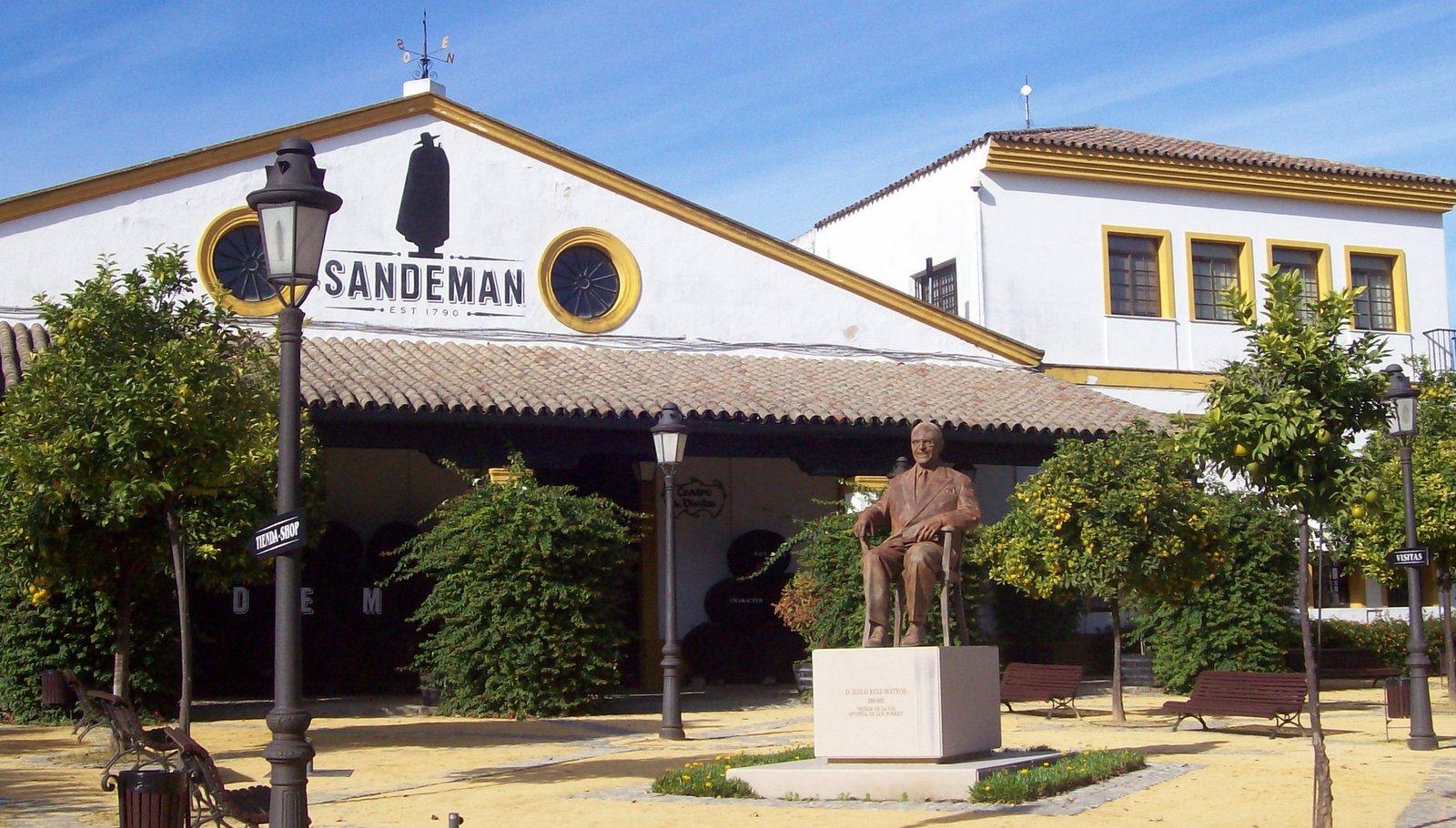 Sandeman in Jerez