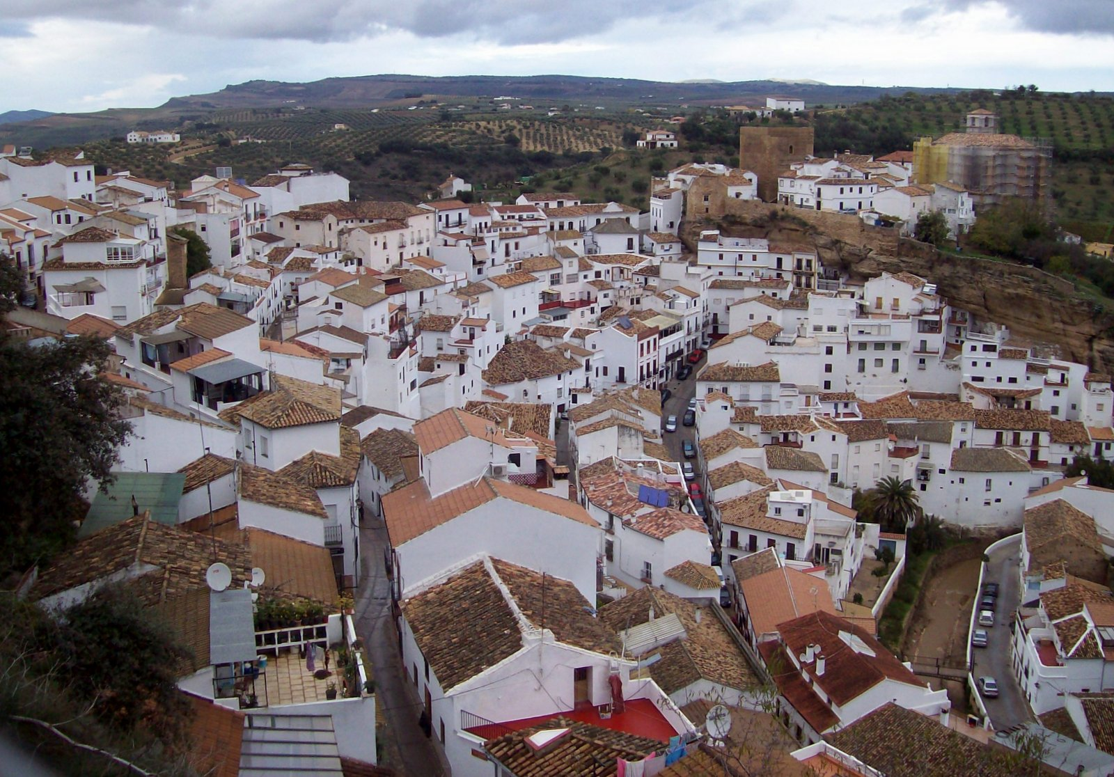 Setenil - Andalusien