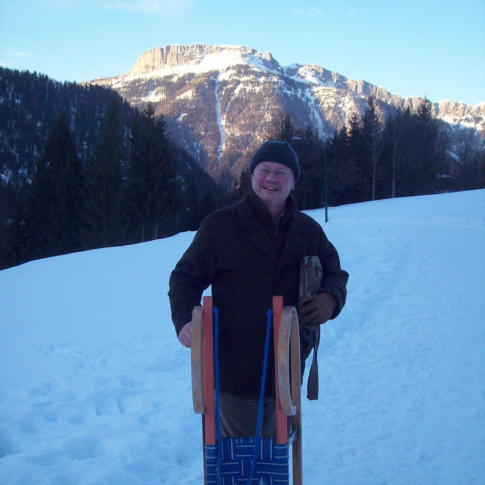 Rodelbahn Alpengasthof Oberweissbach bei Waidring