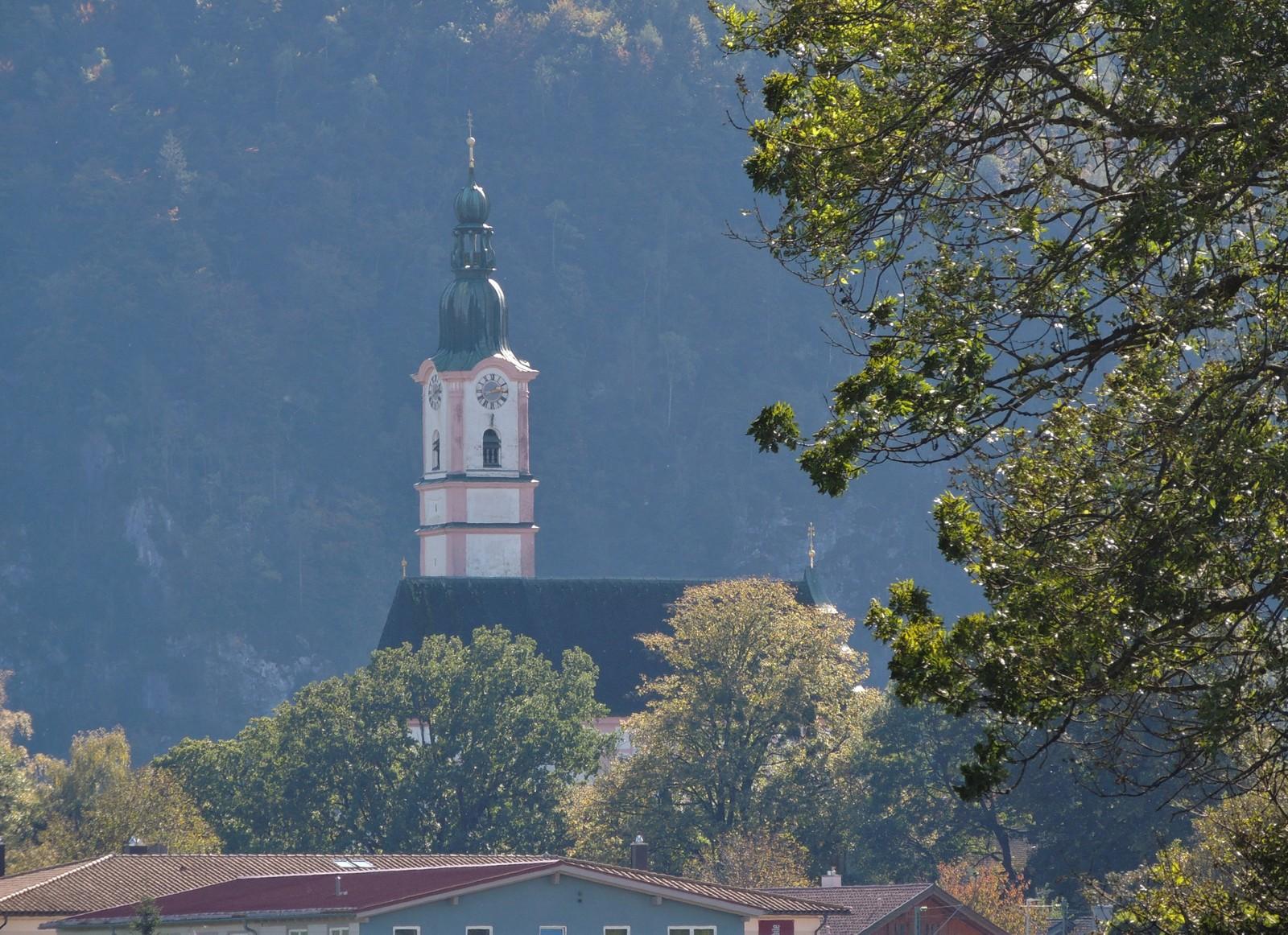 Pfarrkirche St. Martin in Flintsbach im Bayerischen Inntal