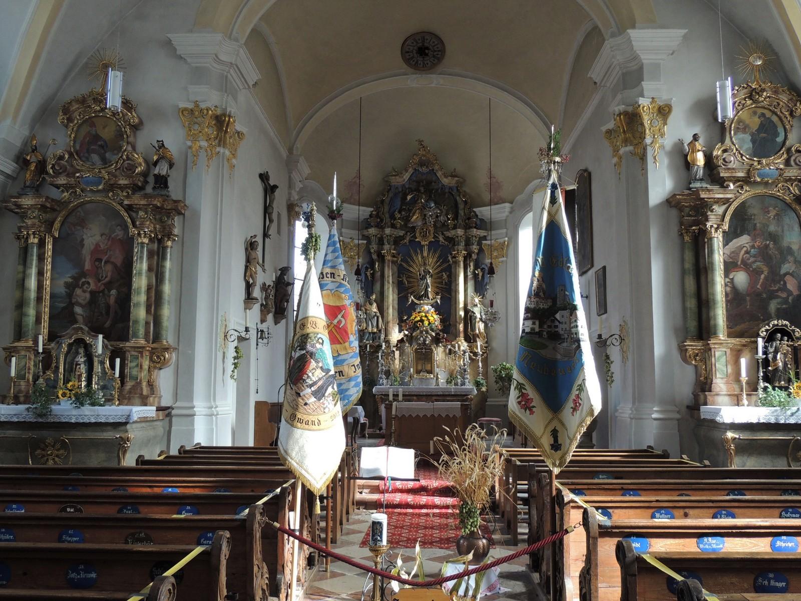 Pfarrkirche Mariä Empfängnis - Neubeuern