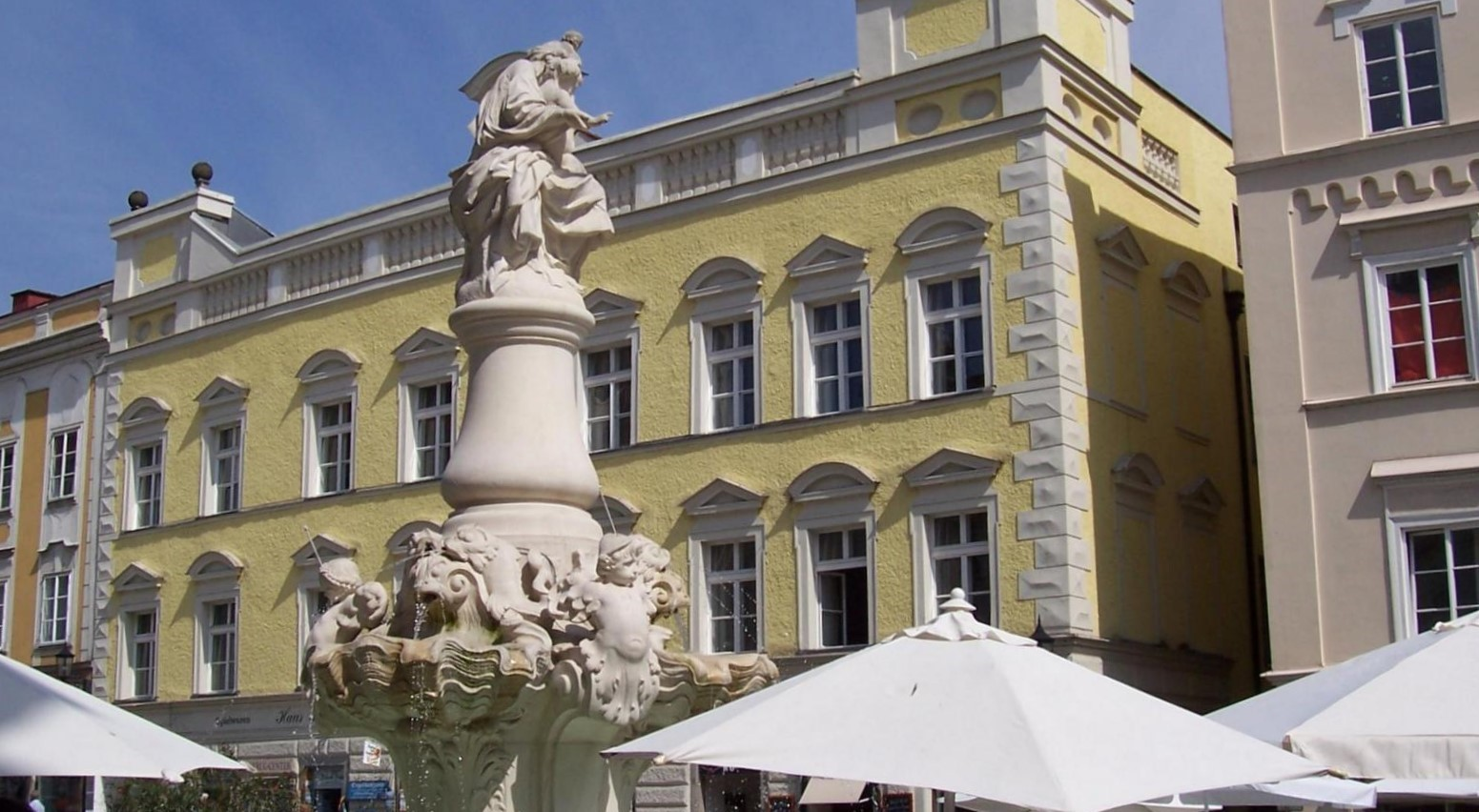 Wittelsbacherbrunnen in Passau