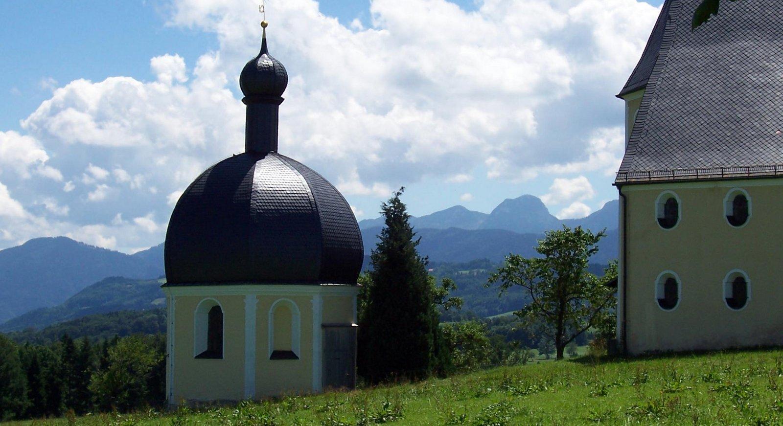Wallfahrtskirche Wilparting am Irschenberg