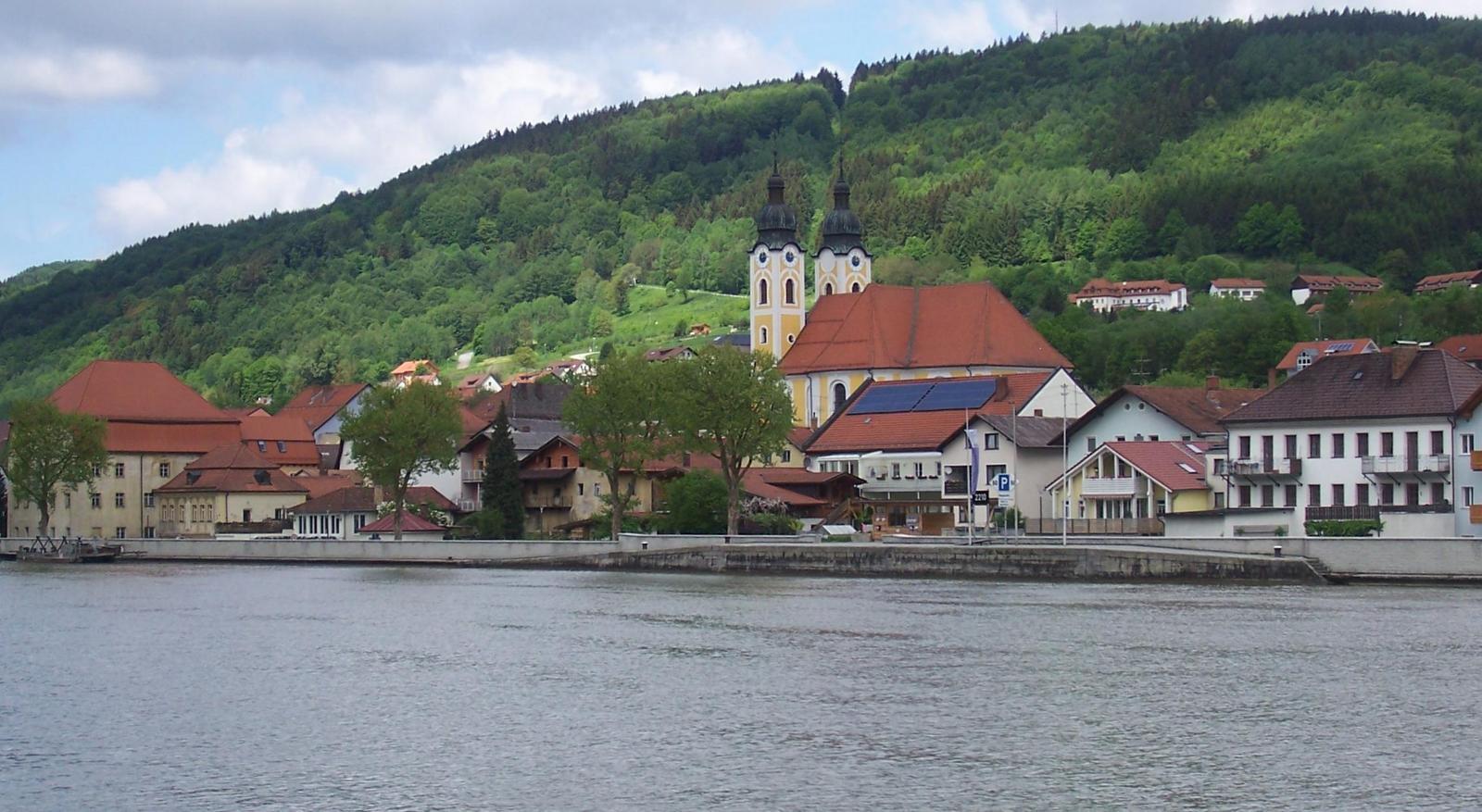Obernzell an der Donau - östlich von Passau