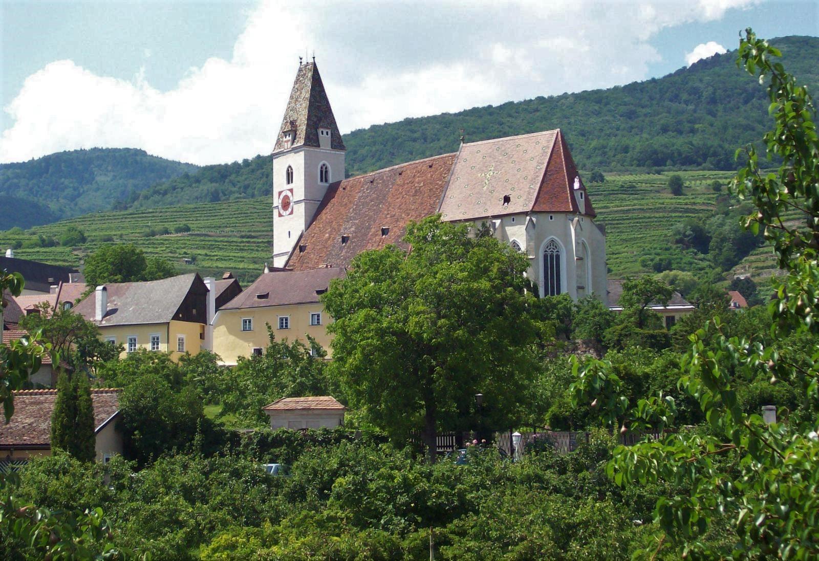 Kirche von Spitz in der Wachau