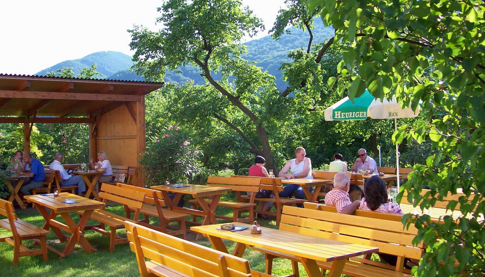 Heuriger in der Wachau