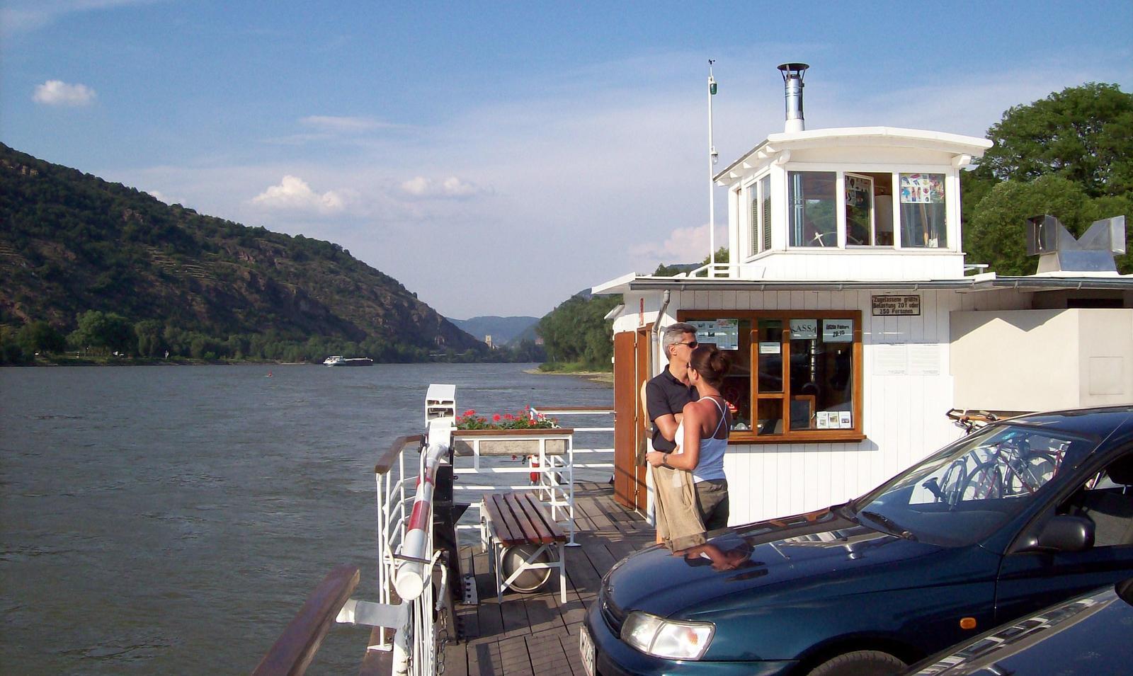 Donaufähre in der Wachau