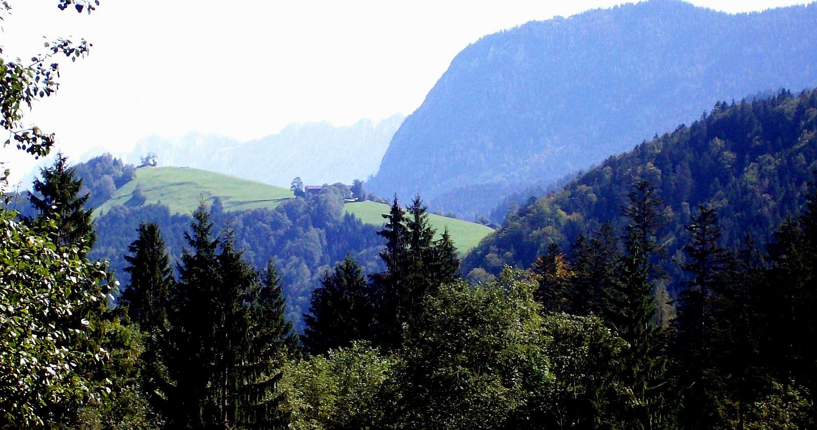 Die Berge bei Schliersee