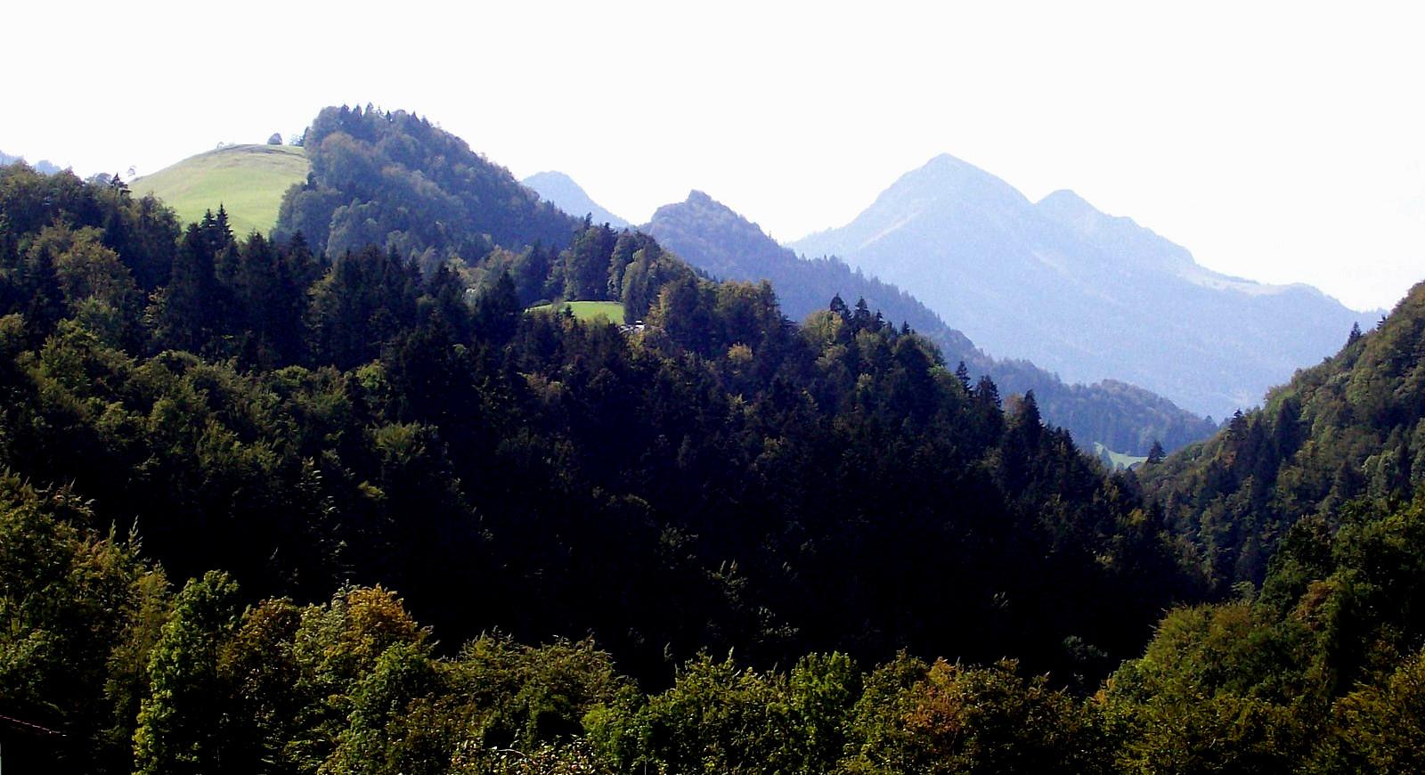 Auf der Strecke Bayrischzell - Thiersee
