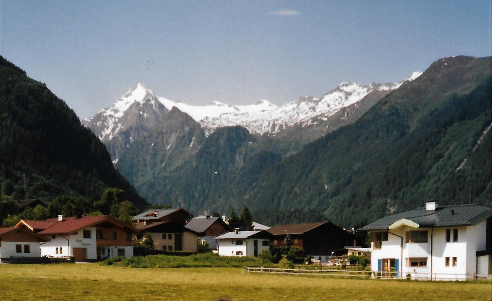 Tauern-Radweg - Kaprun mit Kitzsteinhorn 3.203 m