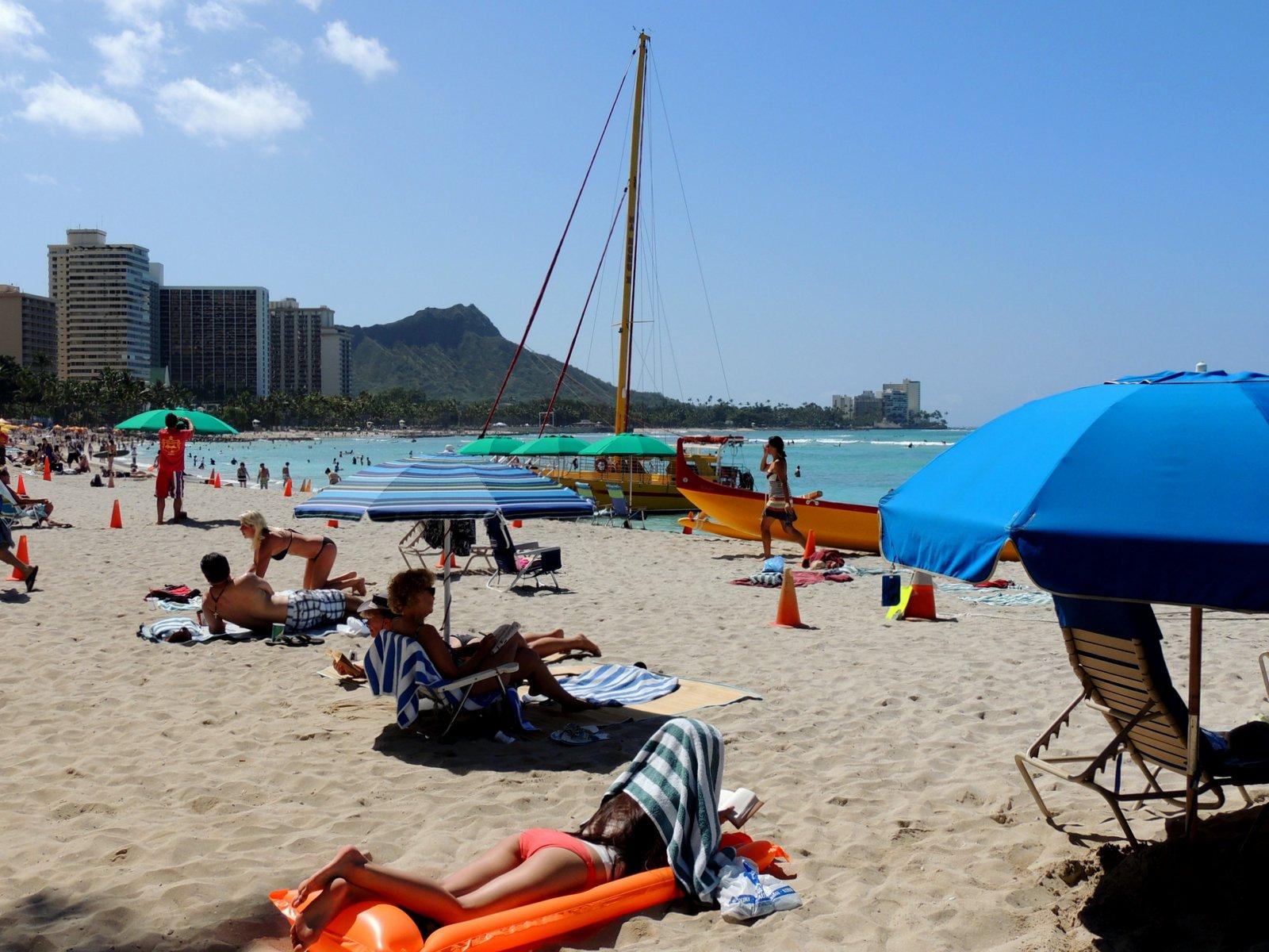 Strand von Waikiki - Oahu