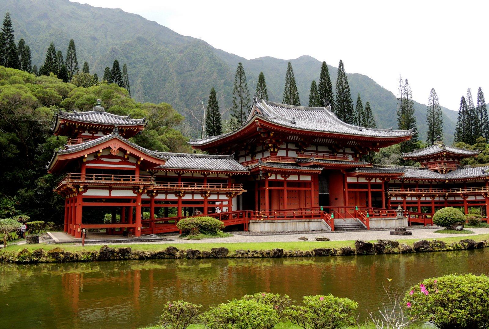 Byodo-In Tempel - Oahu