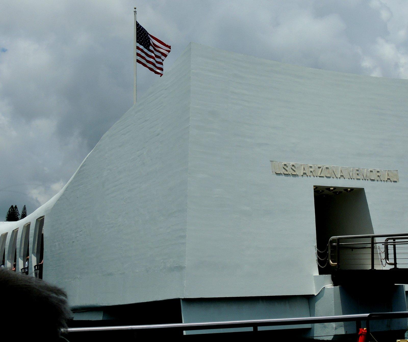 USS Arizona Memorial - Pearl Harbour - Oahu