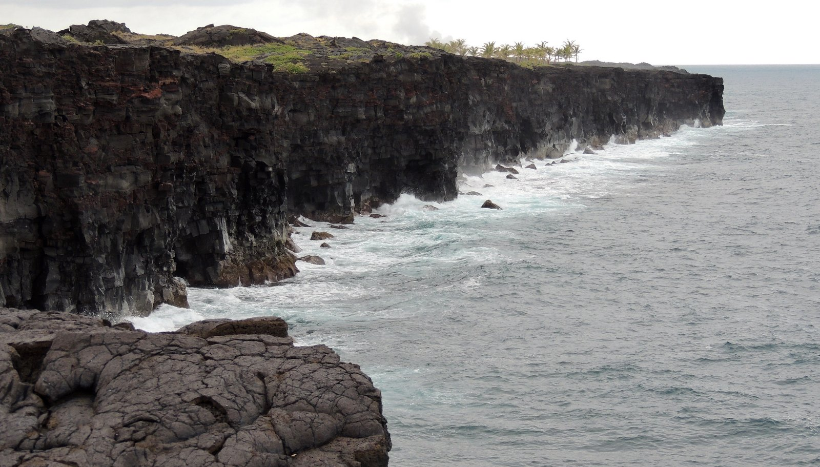 Vulkanküste auf Hawaii