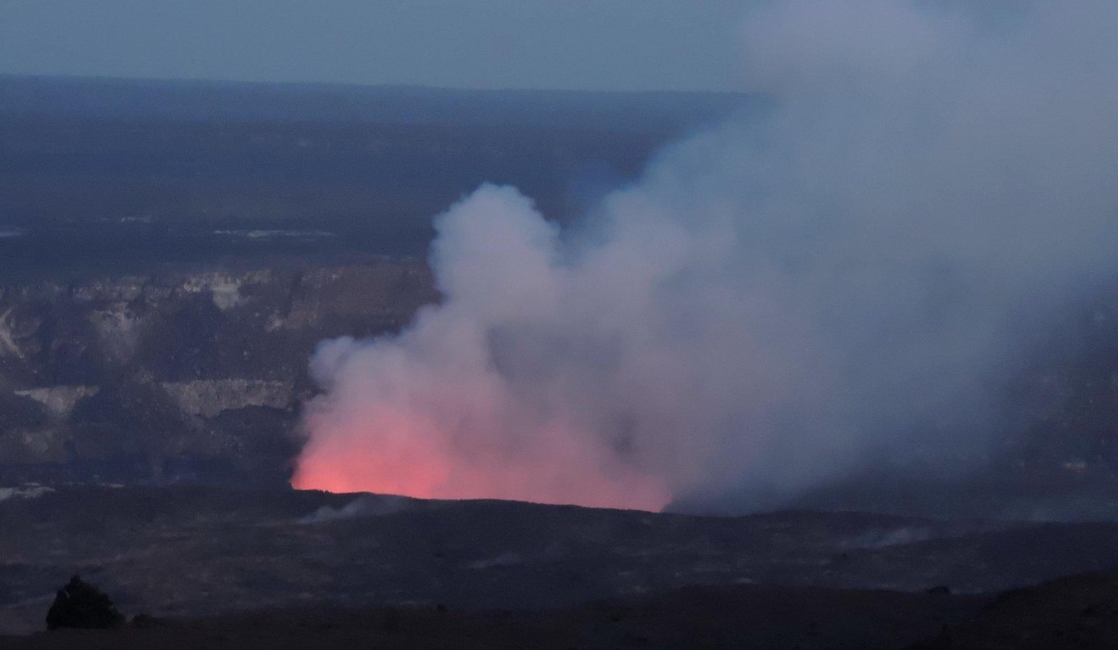 Vulkan Kilauea auf Hawaii