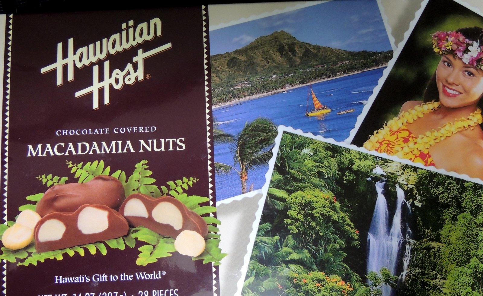 Hawaii Macadamia Nuts Choclate