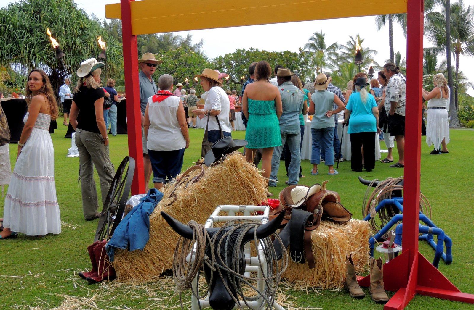 Rancher-Treffen auf Hawaii