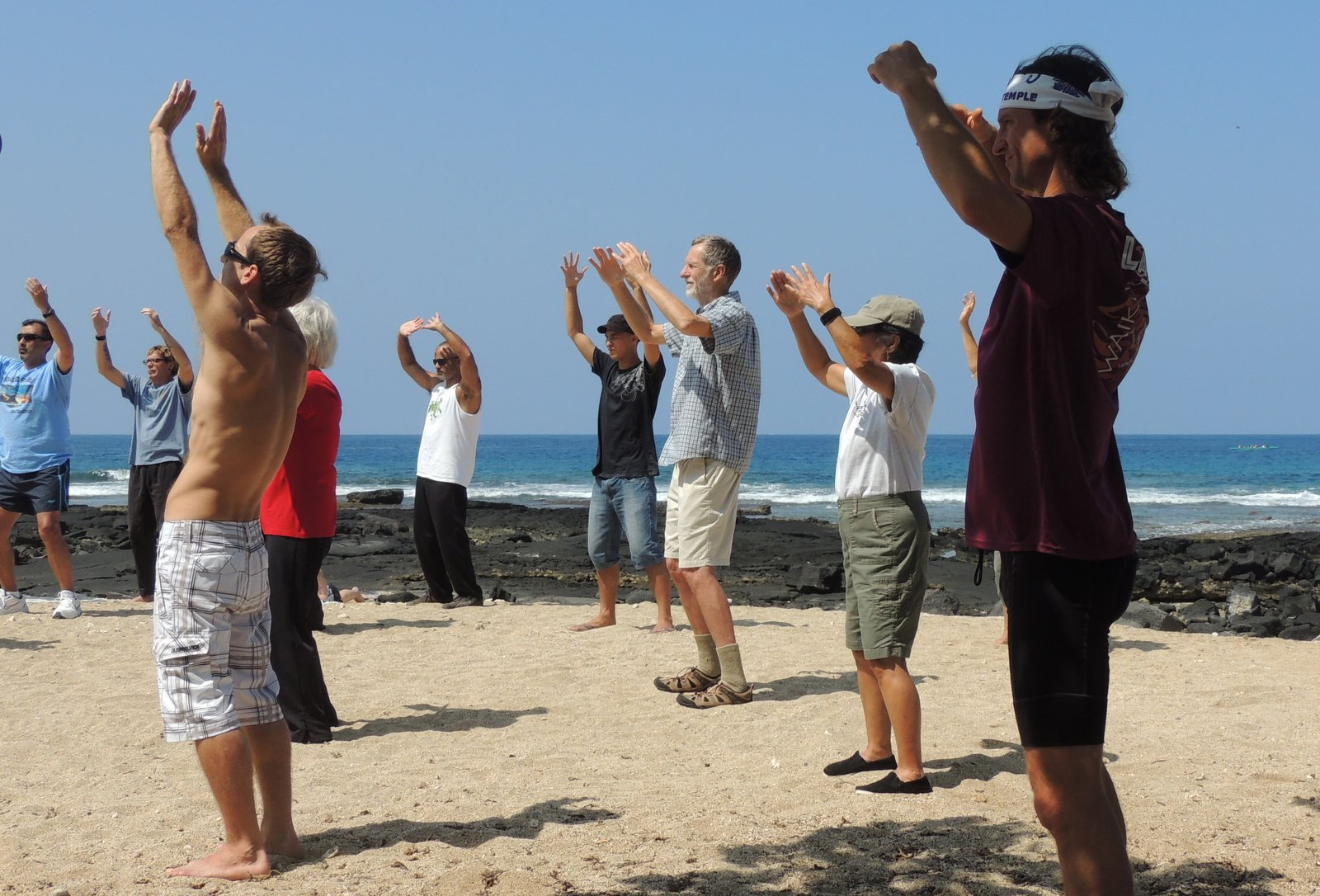 Qi-Gong auf Hawaii