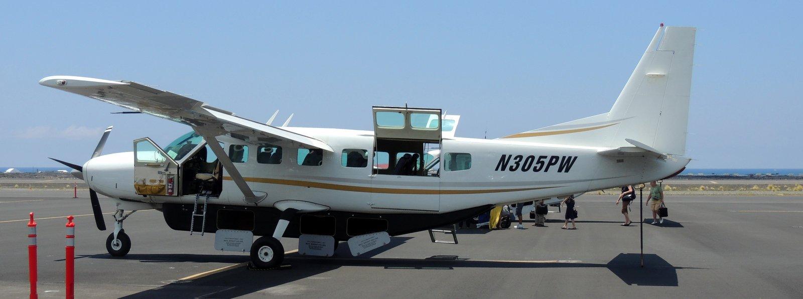Pacific Wings Kona auf Hawaii nach Maui