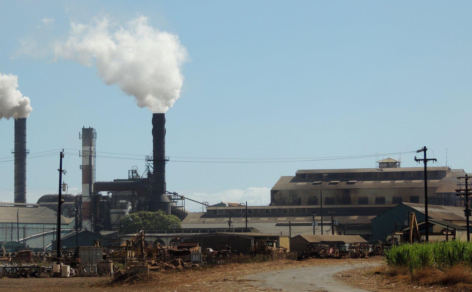 Zuckerfabrik auf Maui
