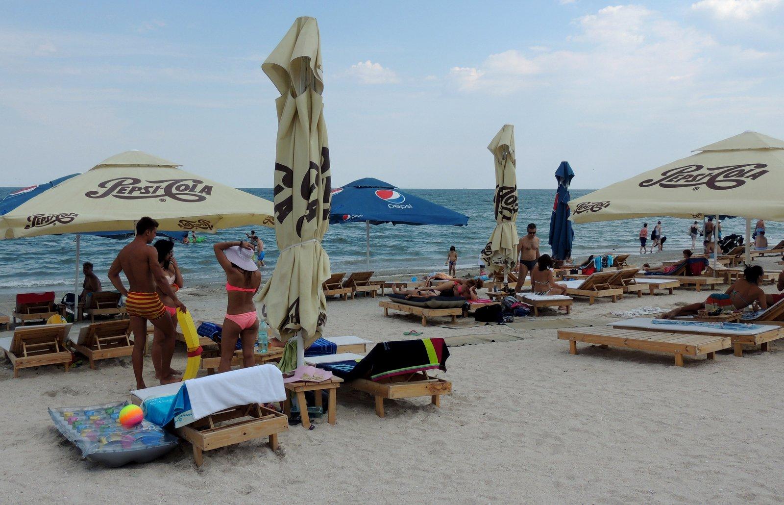 Strand von Mamaia - Rumänien