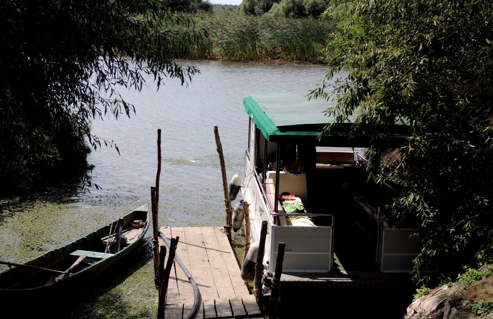 Im Donaudelta - Rumänien