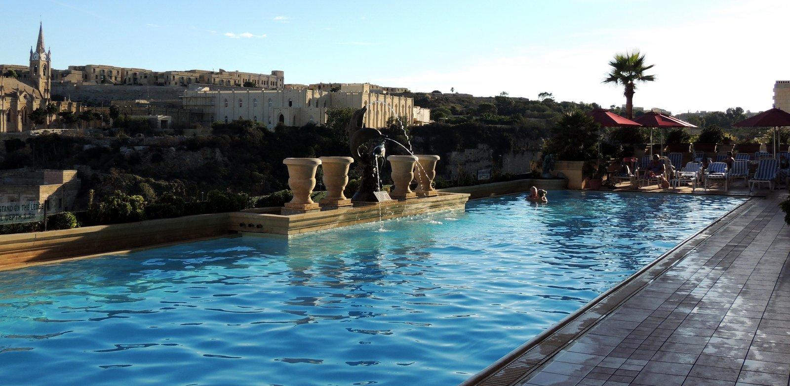 Grand Hotel Gozo Pool