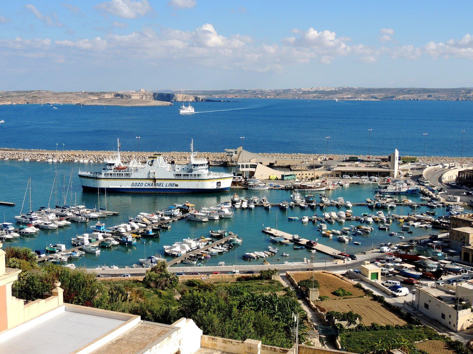 Grand Hotel Gozo Aussicht