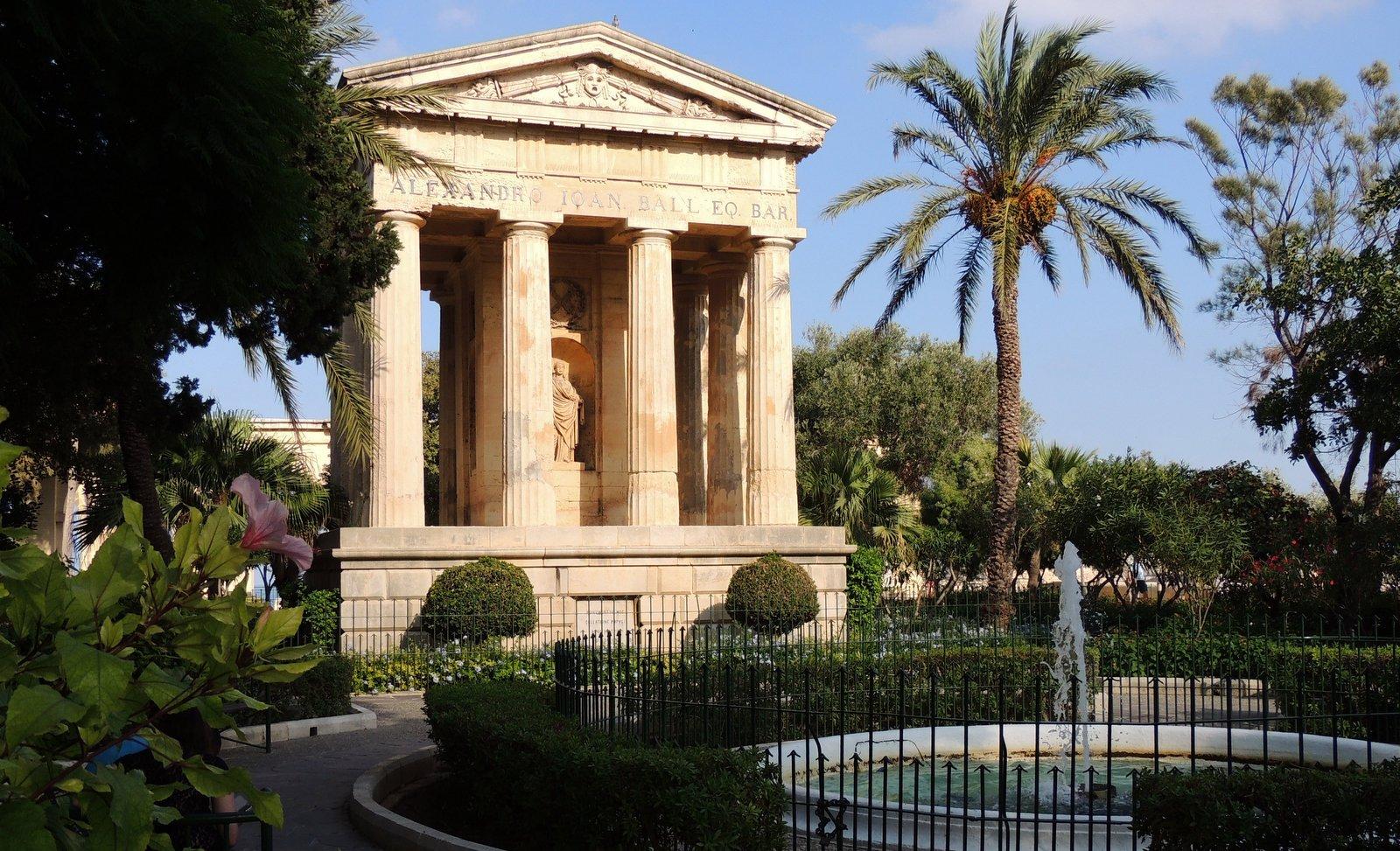 Lower Barakka Gardens - Malta