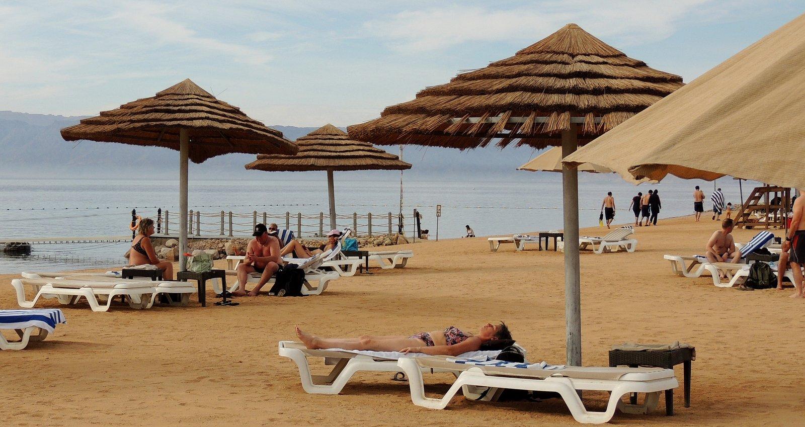 Strand von Tala Bay Jordanien
