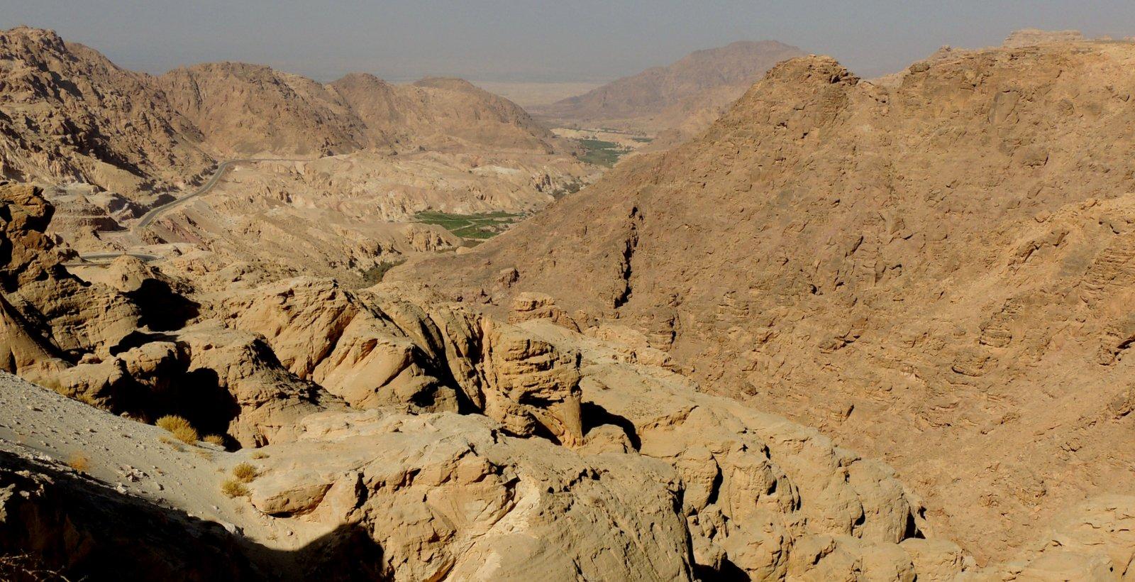 Dana Biosphärenreservat Jordanien