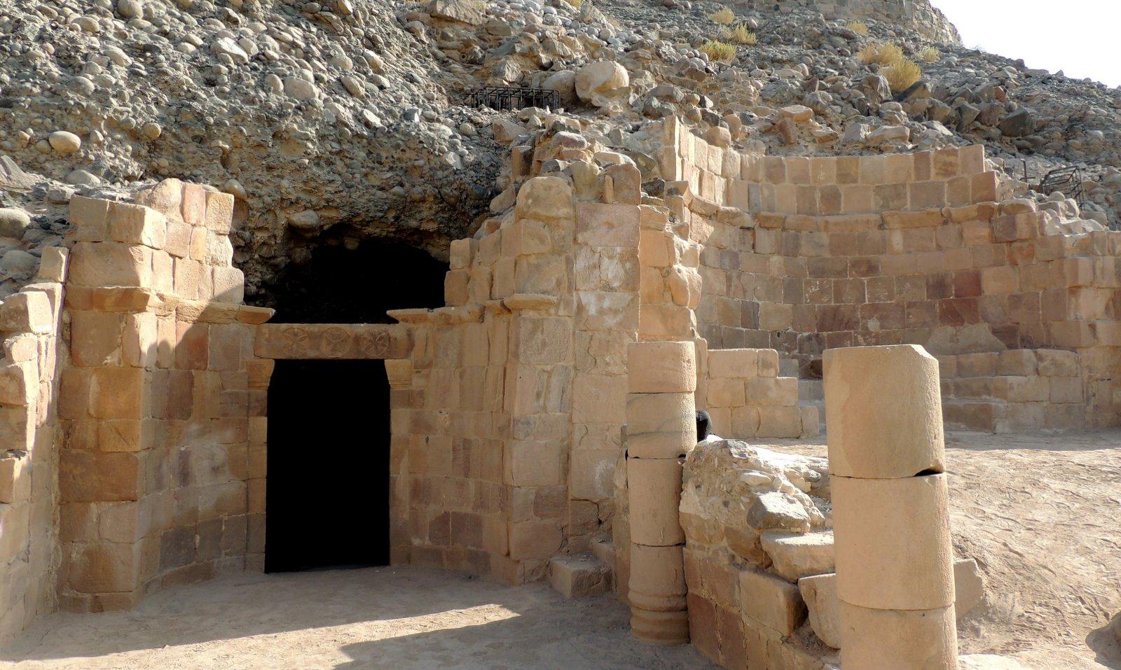 Höhle des Lot Jordanien