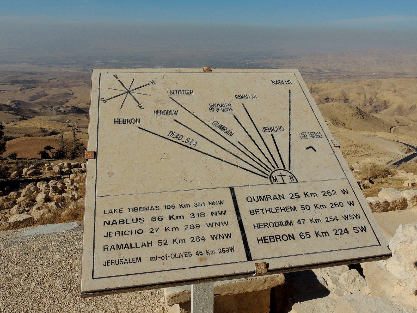 Mt. Nebo Jordanien