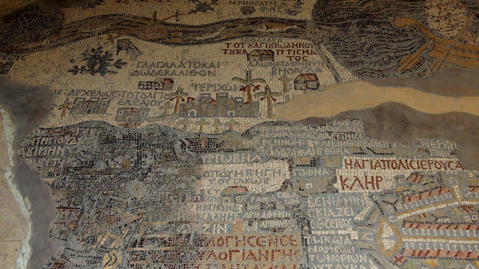Das Mosaik von Madaba - Jordanien