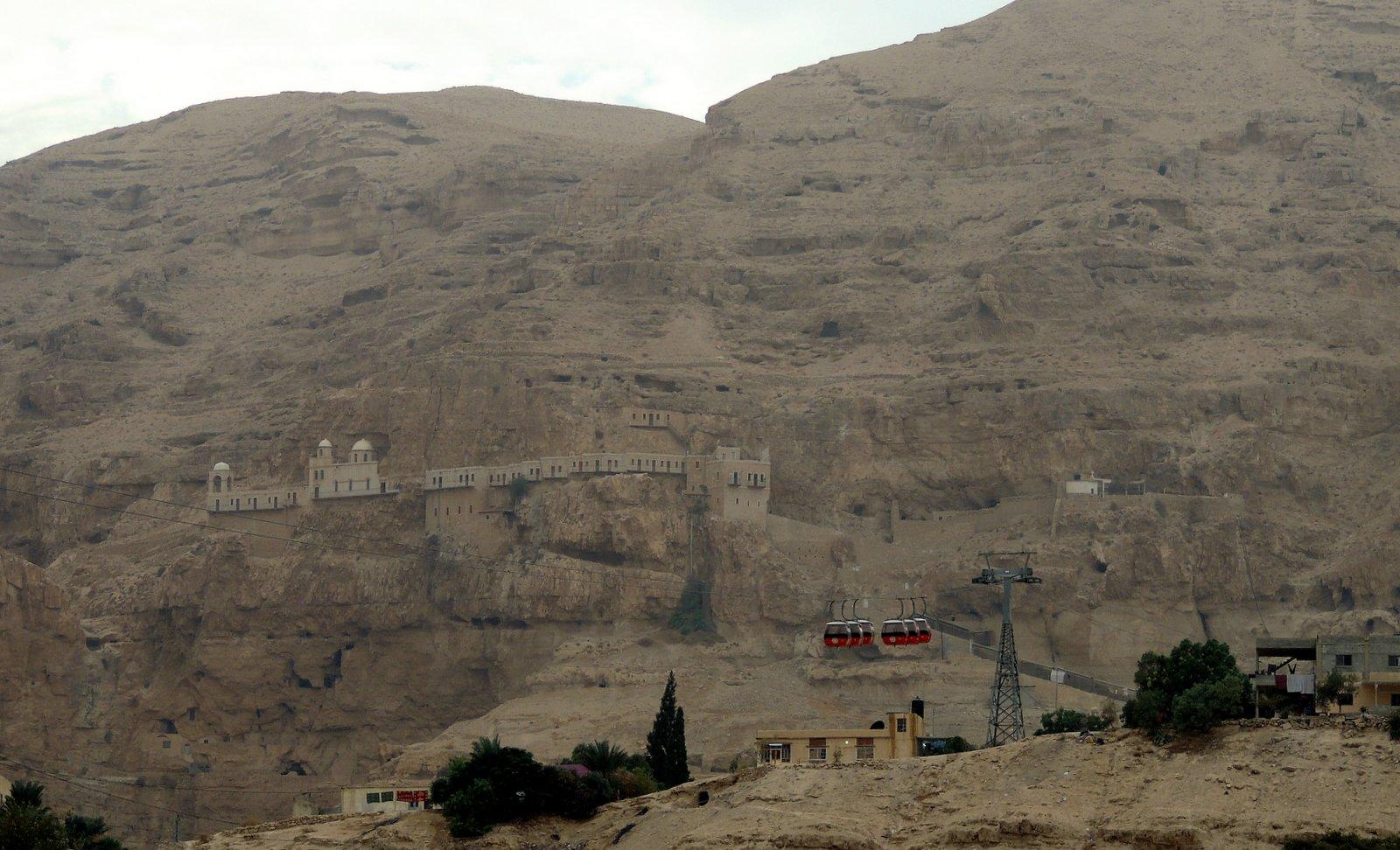 Kloster der Versuchung in Palästina