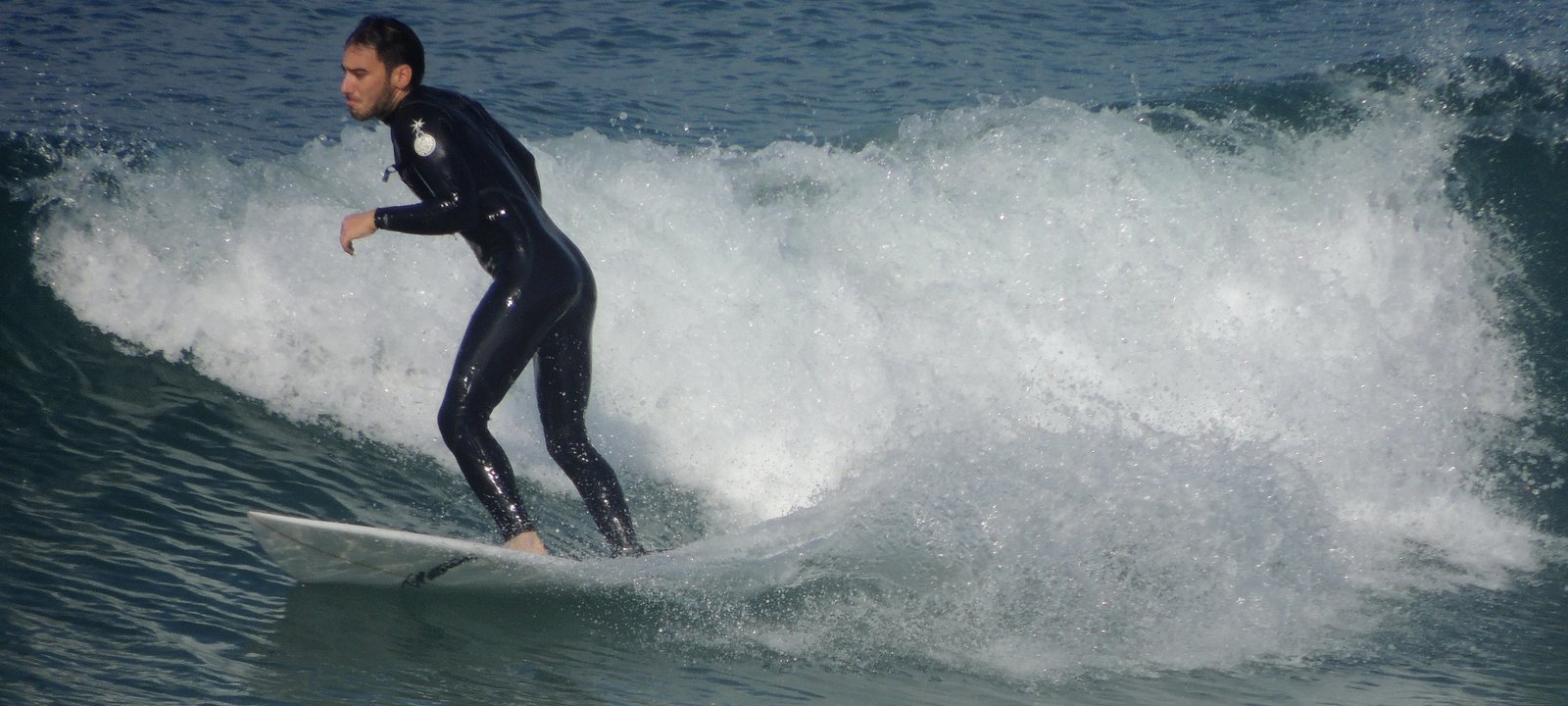 Surfer in Tel Aviv