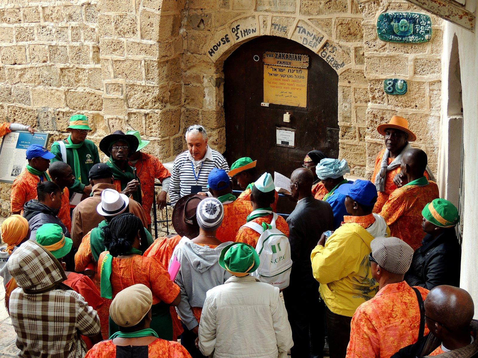 Haus von Simon dem Gerber in Jaffa