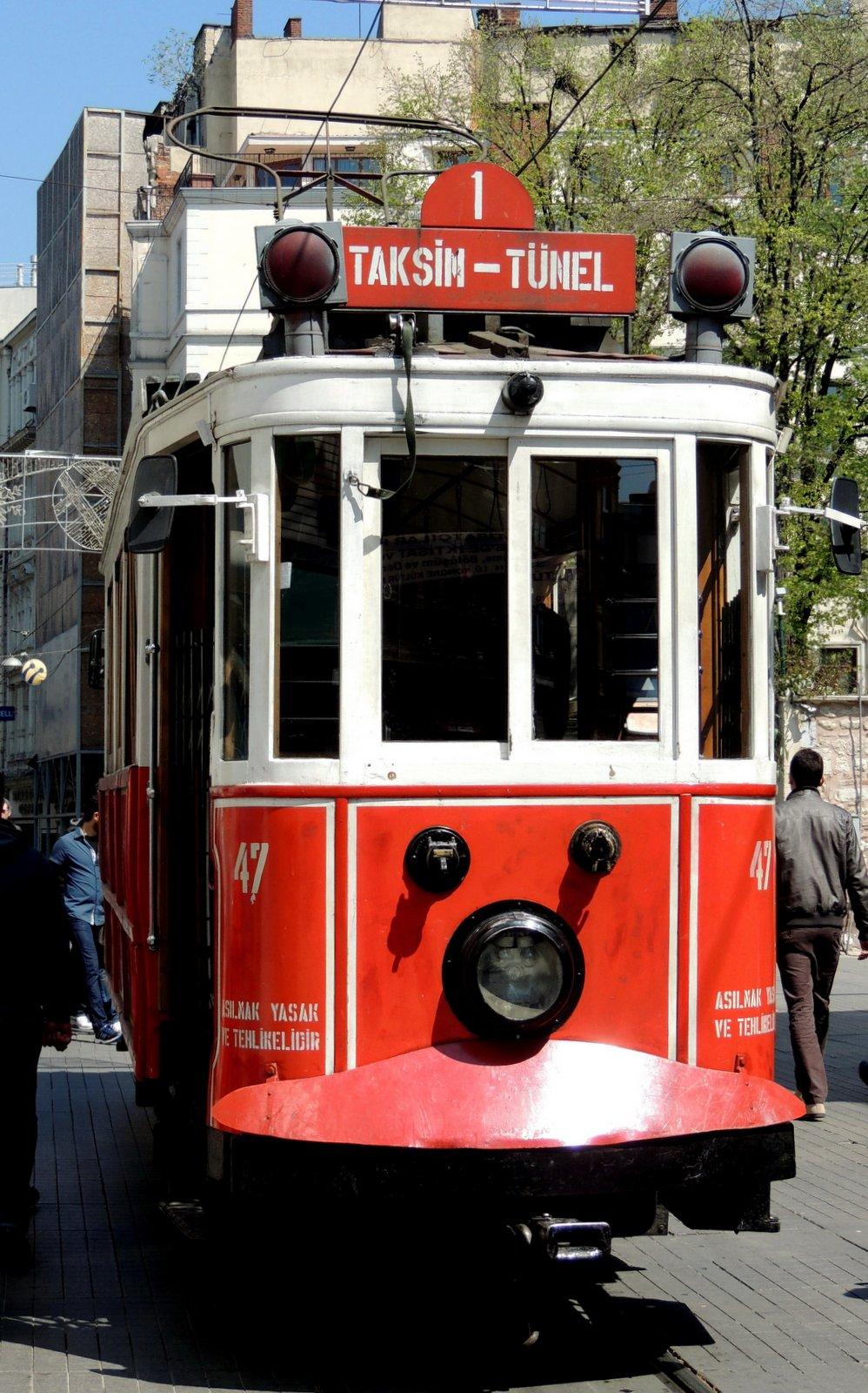 Historische Tram Taksim - Tünel