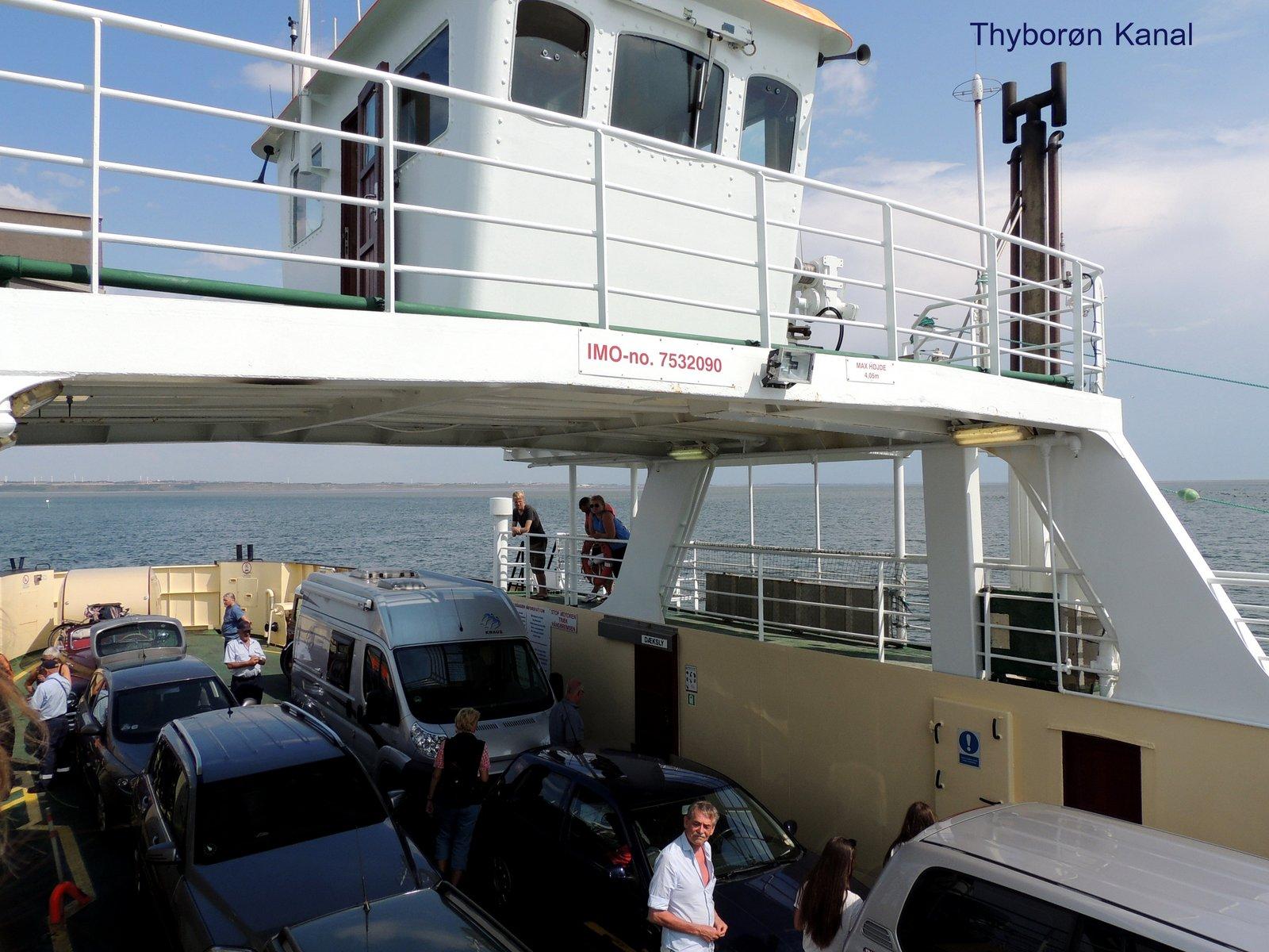 Thyborøn-Kanal - Dänemark