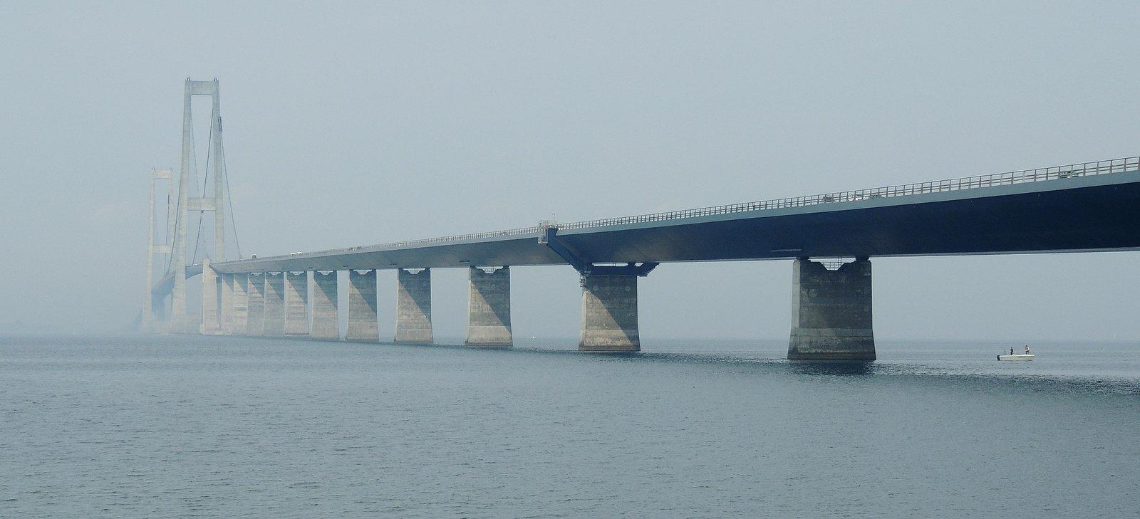 Storebæltsbroen Dänemark
