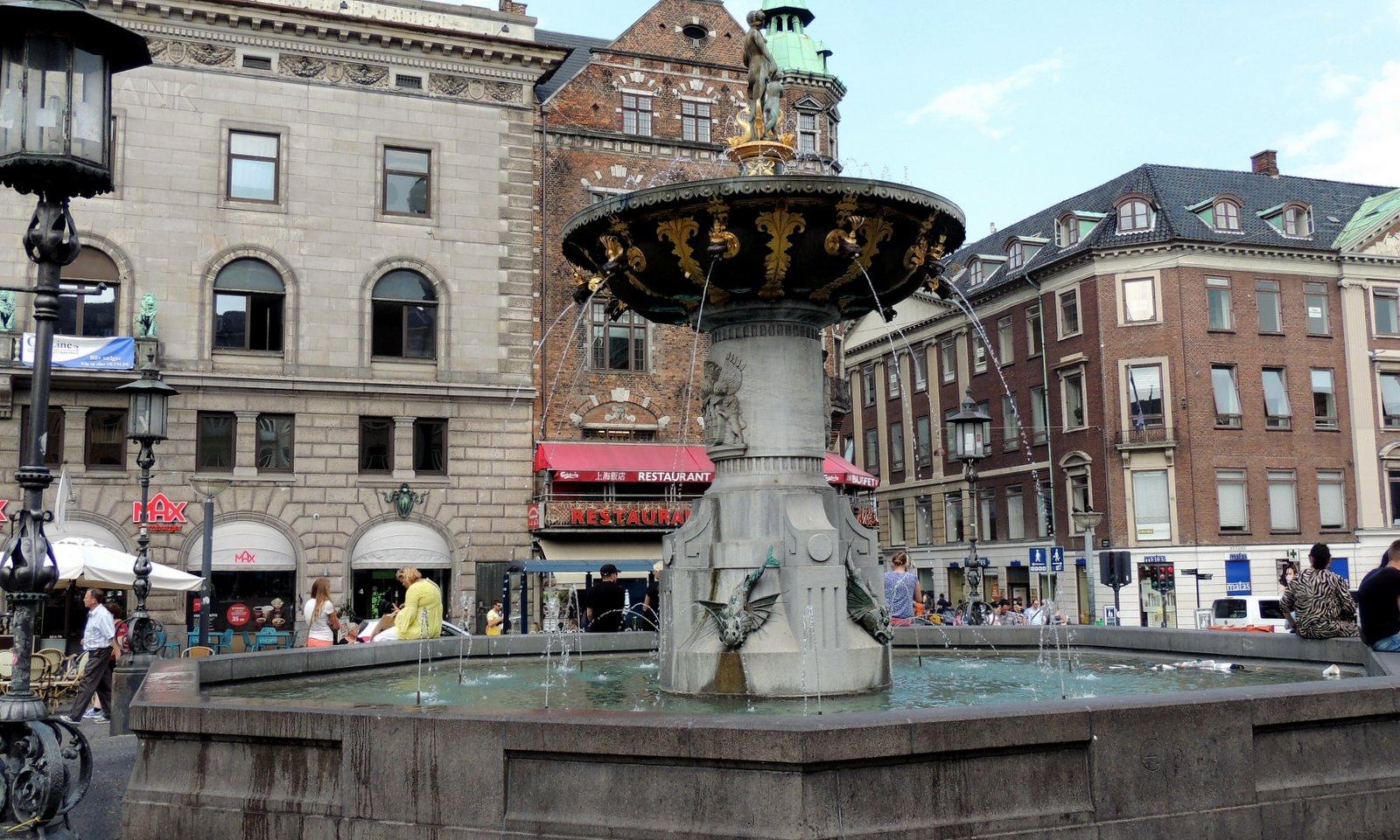 Der Alte Markt in Kopenhagen - Dänemark