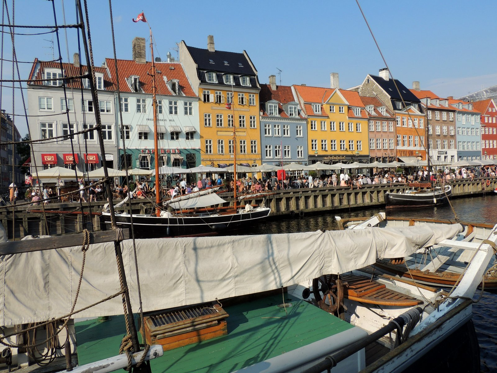 Nyhavn - Kopenhagen - Dänemark