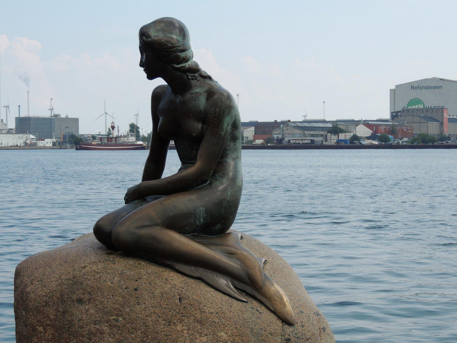 Die Kleine Meerjungfrau in Kopenhagen