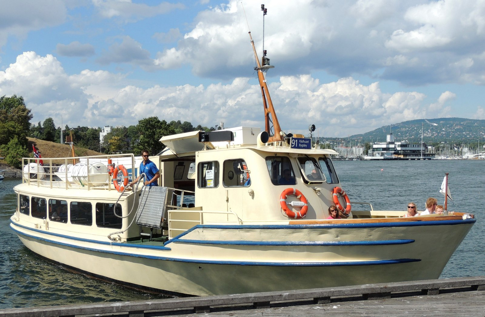 Linienboot Rathauskai - Bygdøy